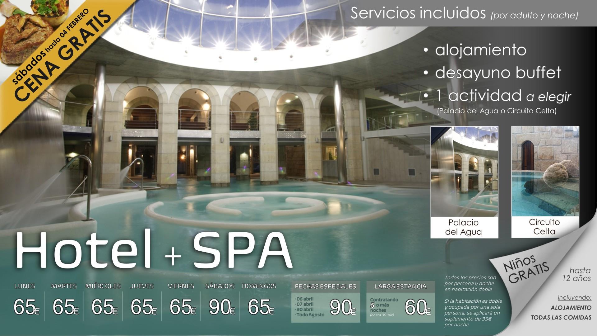 Programa HOTEL + SPA