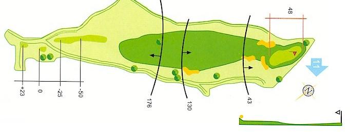Hoyo 10 Campo de Golf Mondariz