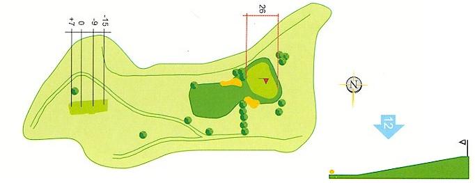 Hoyo 11 Campo de Golf Mondariz
