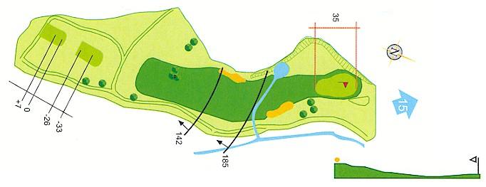 Hoyo 14 Campo de Golf Mondariz