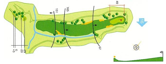 Hoyo 15 Campo de Golf Mondariz