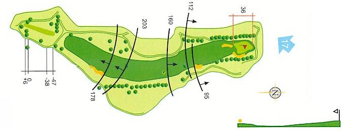Hoyo 16 Campo de Golf Mondariz