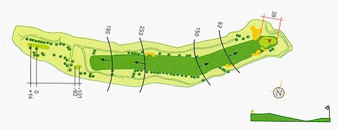 Hoyo 18 Campo de Golf Mondariz