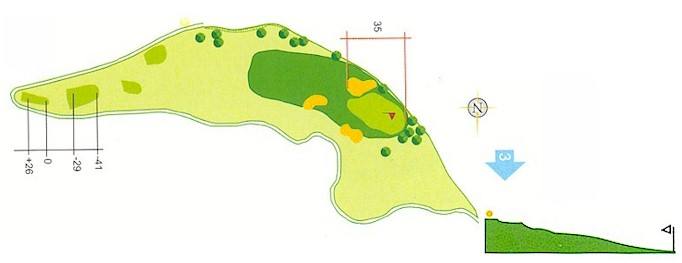 Hoyo 2 Campo de Golf Mondariz