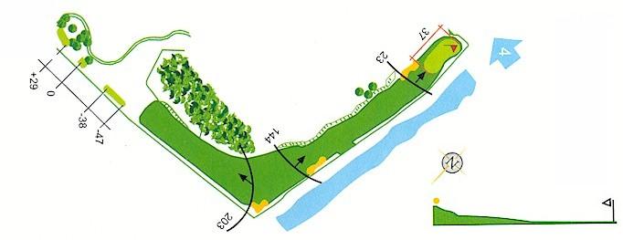 Hoyo 3 Campo de Golf Mondariz