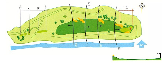 Hoyo 4 Campo de Golf Mondariz