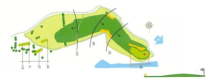 Hoyo 5 Campo de Golf Mondariz