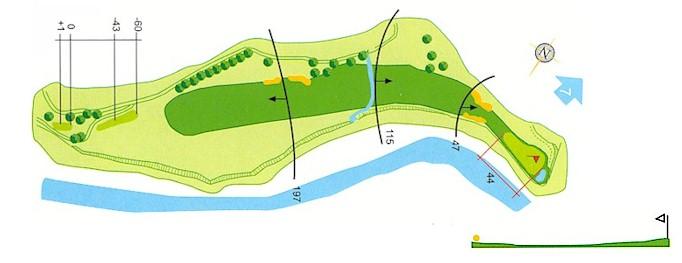 Hoyo 6 Campo de Golf Mondariz