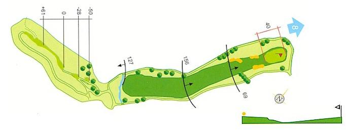 Hoyo 7 Campo de Golf Mondariz