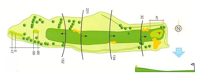 Hoyo 9 Campo de Golf Mondariz